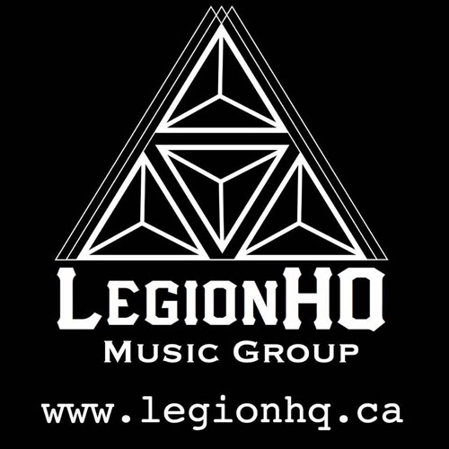 LegionHQ Music Group - Logo
