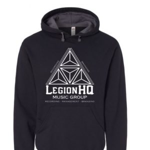 LegionHQ Music Group hoodiebk