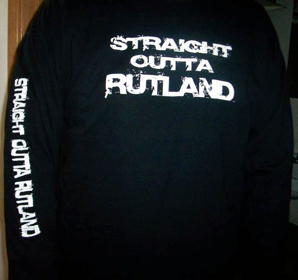 Straight Outta Rutland Hoodies