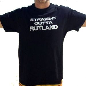 Straight Outta Rutland Mens T-Shirts